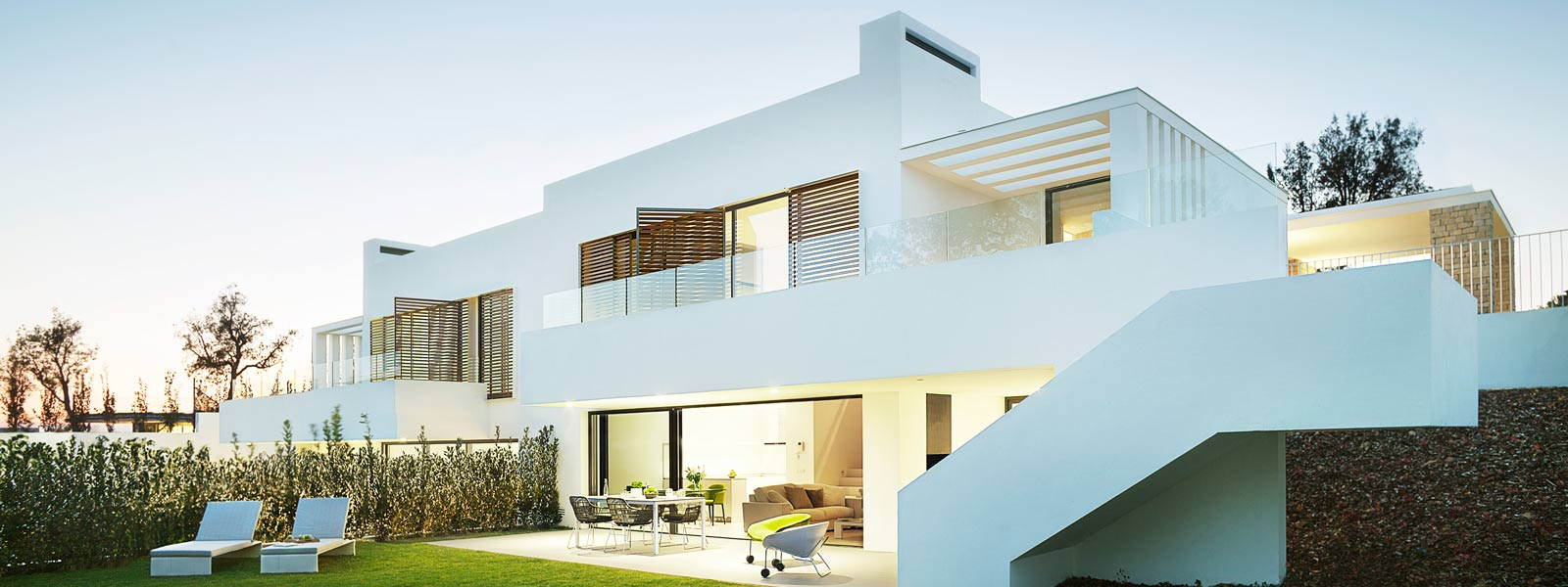Permis de s jour espagnol europ en pour les acheteurs trangers - Maison moderne espagne ...
